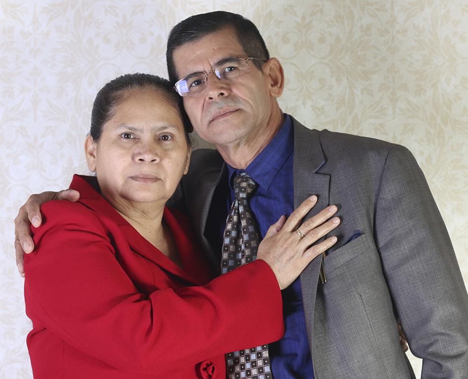 Santos y Celinda Sorto